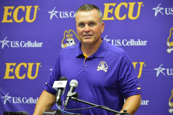 Mike Houston is in his first year at ECU and he talked about the progress made heading into game one at media day on Saturday.