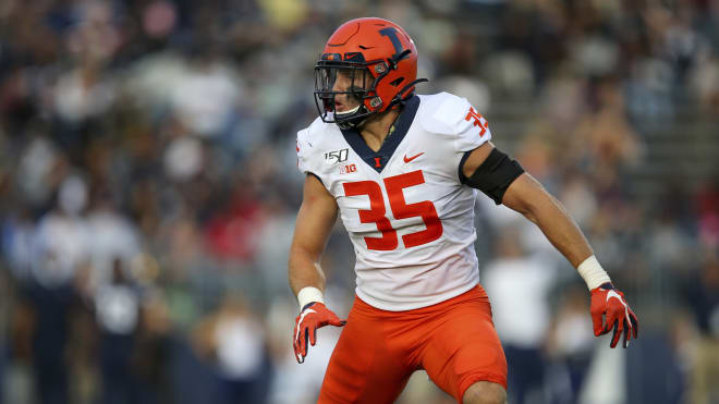 Linebacker Jake Hansen isn't the flashiest player, but he's been one of the Big Ten's most productive defenders.