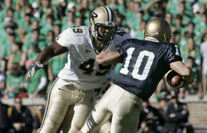 Anthony Spencer talks about his playing days and how much he liked to play against Notre Dame.