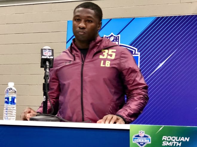 Roquan Smith said leaving Georgia early was not an easy call.