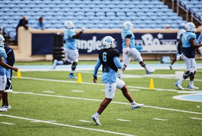 UNC Coach Mack Brown says determing who will back up Sam Howell is vital during fall camp.