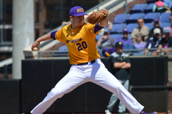 Tyler Smith and (16)East Carolina picked up a 5-0  win over (18)Wichita State on Saturday in AAC action.