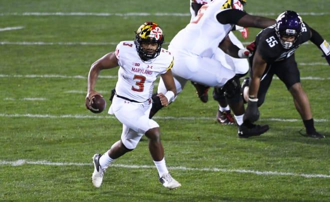 Maryland Terrapins football quarterback Taulia Tagovailoa threw for seven touchdowns in 2020.