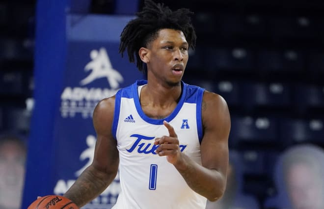 Brandon Rachal, Tulsa's leading scorer, finished with 14 points and 10 rebounds in just 17 minutes against Southwestern Christian.