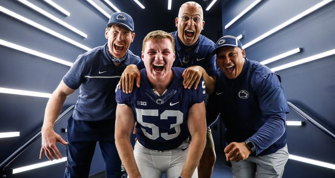 Penn State football earned a commitment from four-star offensive lineman Alex Birchmeier on Thursday.