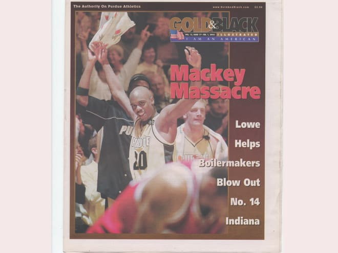 """In our Zoom interview, Lowe talks about the """"St. Valentines Massacre"""" as one of his favorite Purdue moments."""