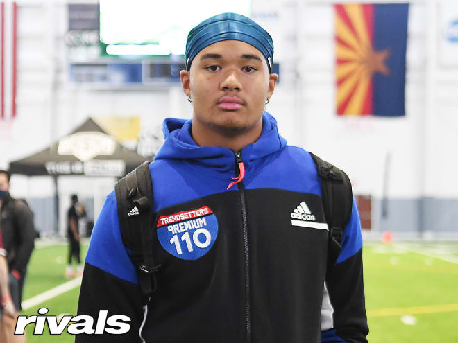 Matayo Uiagalelei is holding about 15 early scholarship offers.