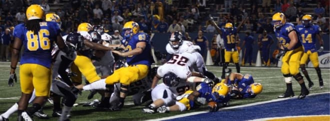 A late touchdown by McNeese proved to be the difference in the game between the Roadrunners and Cowboys.