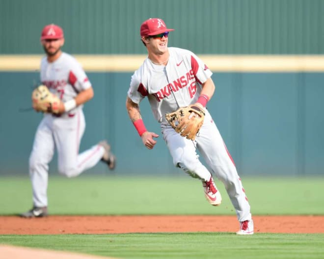 Casey Martin is the second Arkansas player off the board in the 2020 MLB Draft.
