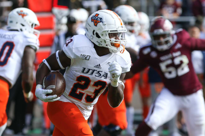 Sincere McCormick came to UTSA as a three-star recruit from Converse, Texas.