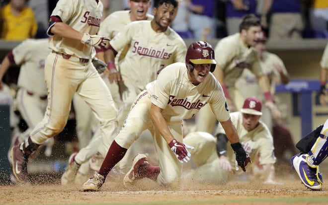 Florida State baseball finished the 2019 season with a 42–23 record and made it to the college world series for the 23rd time.