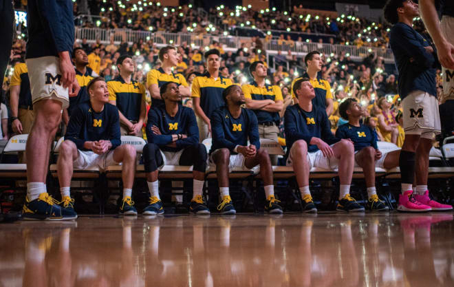 Michigan hosts Penn State tomorrow night at 7:00, before welcoming Indiana to Ann Arbor on Sunday at 4:30 for a huge conference showdown.