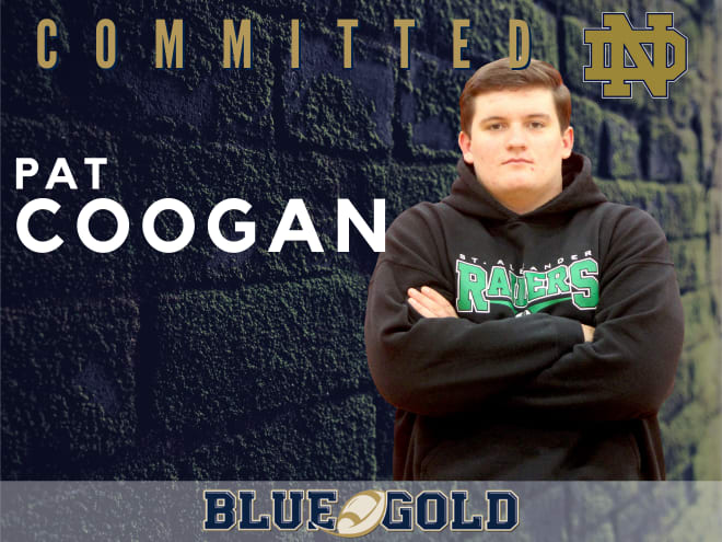 Chicago Marist offensive lineman and Notre Dame commit Pat Coogan