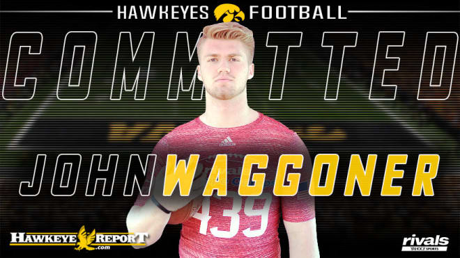 Four-star DE John Waggoner is going to be a Hawkeye.