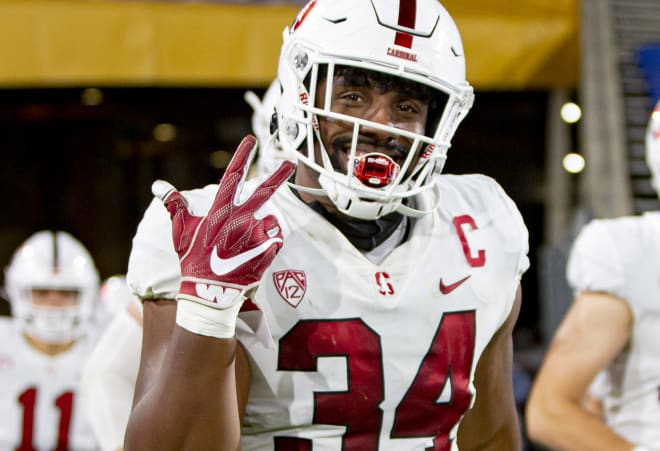 Junior defensive captain Thomas Booker announced Saturday that he will stay at Stanford his senior year.
