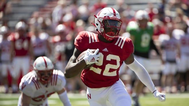 Freshman running back Gabe Ervin.