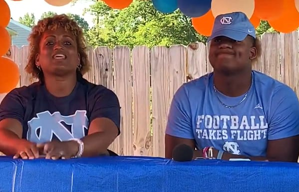 UNC fought off heavy challengers for Jahvaree Ritzie 's commitment in June.