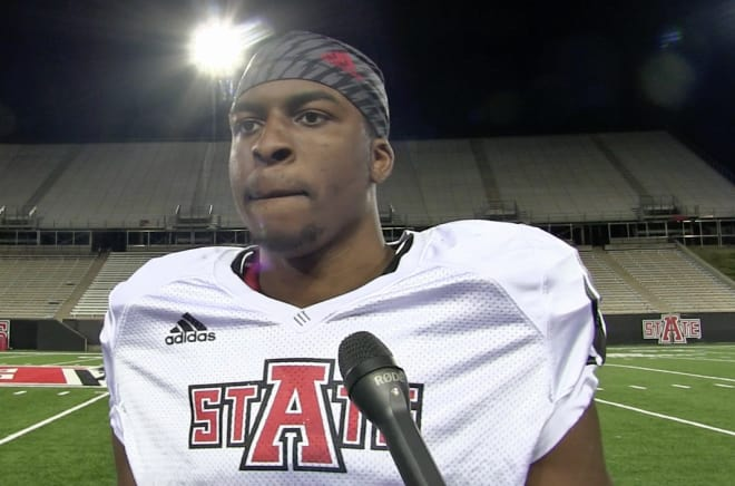 Bubba Ogbebor originally signed with Boise State before transferring to Arkansas State