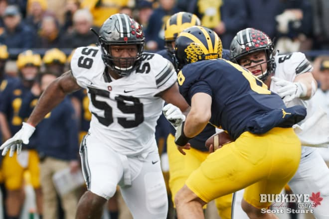 Tyquan Lewis is one of three Buckeyes to make 1st team