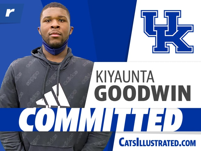Kiyaunta Goodwin has committed to Kentucky