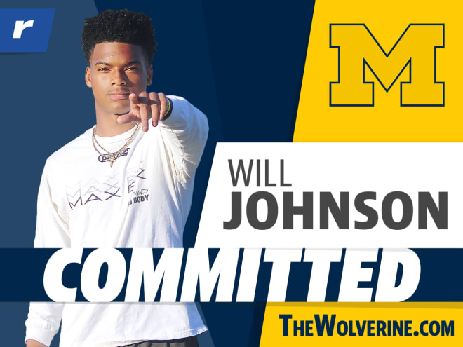 Will Johnson committed to Michigan on Feb. 28
