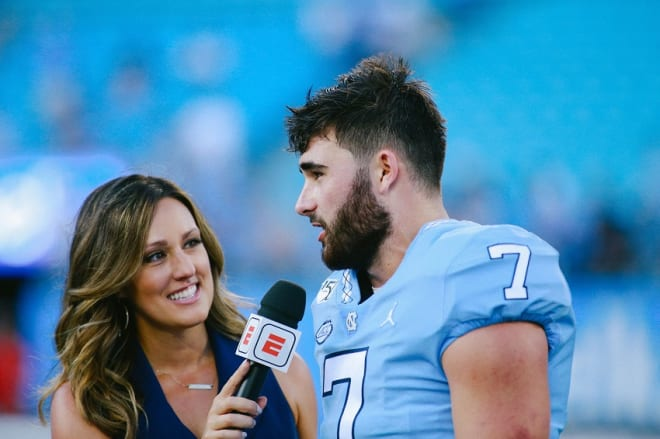 Howell's first game at UNC included a huge comeback win and some ESPN love.