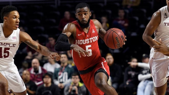 ECU takes on Corey Davis, Jr. and (6)Houston Wednesday night in 7 o'clock in Minges Coliseum.