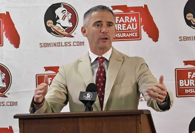 Florida State head coach Mike Norvell.