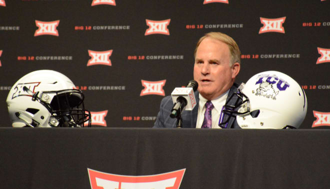 TCU head coach Gary Patterson.