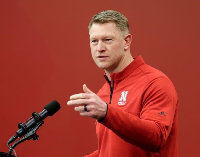 Nebraska's Scott Frost