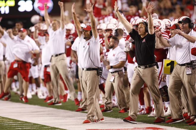 Mike Riley's team held on Saturday to beat Arkansas State 43-36.