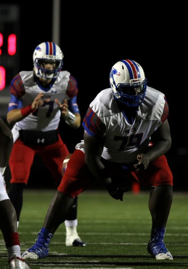 The Pirates have landed some solid help along the offensive line in the form of Hutchinson center Robert Mervin.