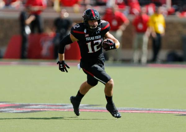 Texas Tech's receiving core returns several players with starting experience including Ian Sadler.