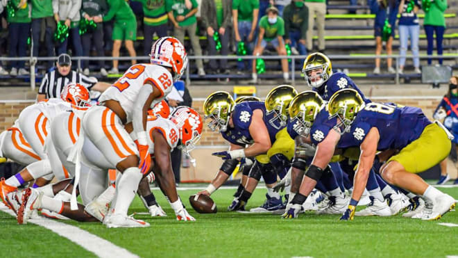 Notre Dame's crime excelled much better in third and short situations in 2020 than last year.