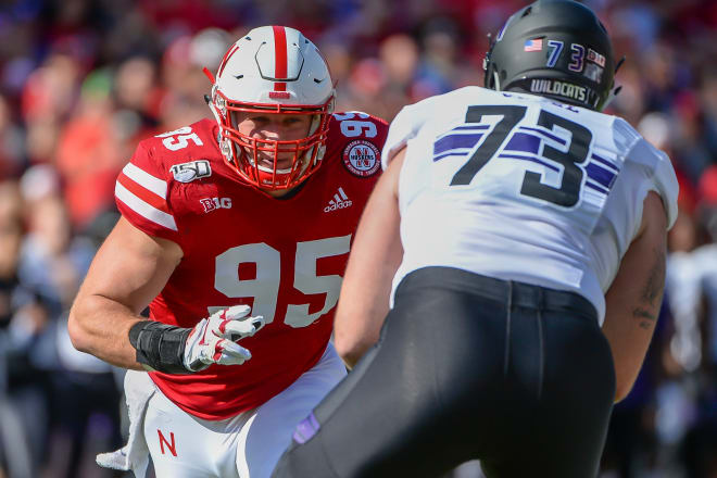 Sixth-year senior Ben Stille leads a defensive line that might be one of Nebraska's top strengths going into 2021.