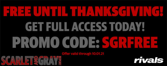 Sign up now for free access until Thanksgiving