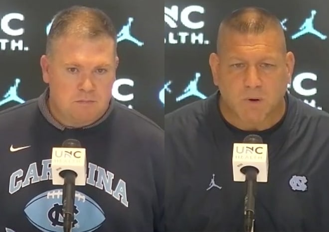 UNC Football Coordinators Press Conferences: What's To Fix From Tallahassee & More