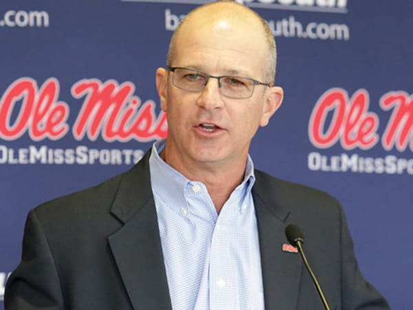 Mike Bianco explains why he won't recruit his sons to Ole Miss.