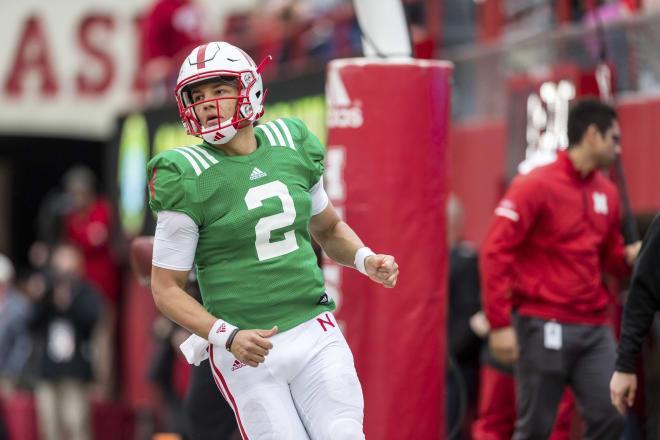 True freshman Adrian Martinez has grown even more this week since being announced as Nebraska's starting quarterback.