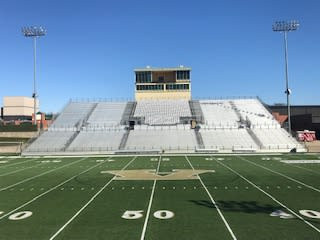 Airedale Stadium at Alma high school.