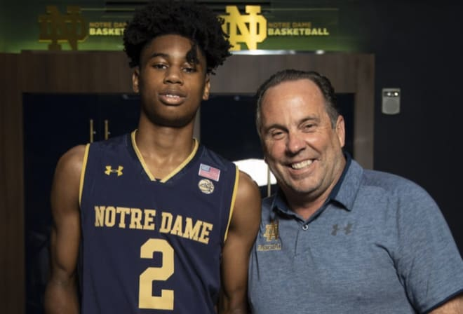 The four-star guard has the Irish in his top schools list.