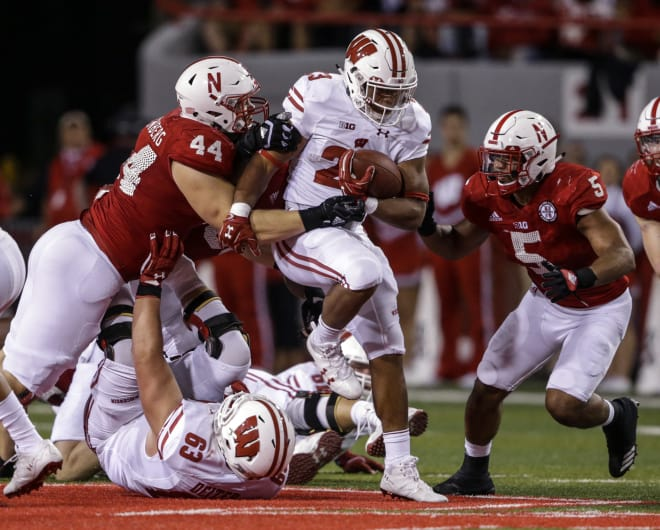 Jonathan Taylor returns to Wisconsin after rushing for 1,847 yards and 13 touchdowns as a true freshman.