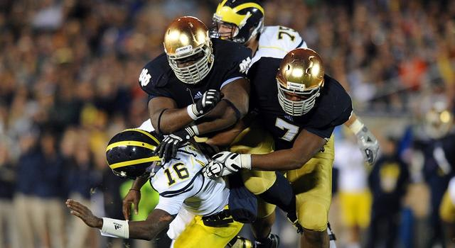 Notre Dame Fighting Irish and current Pittsburgh Steelers defensive end Stephon Tuitt
