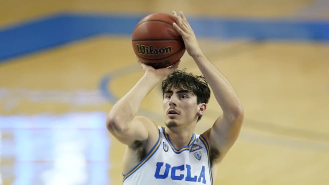 UCLA is led by sophomore forward Jaime Jaquez Jr.'s 13.3 PPG, 46.9% 3PT (AP Photo/Ashley Landis)