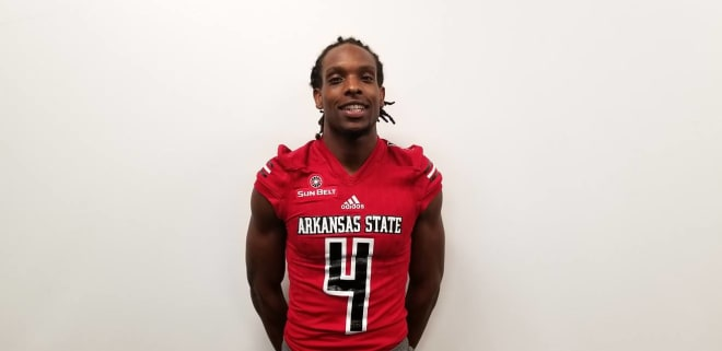 Dahu Green transferred to Arkansas State after originally signing with Oklahoma