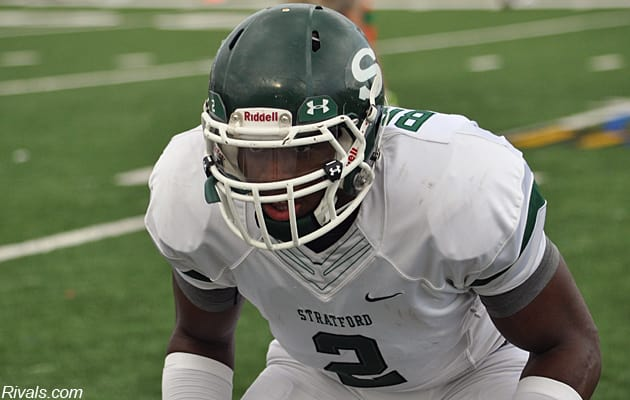 Stratford (TX) LB Jordyn Brooks committed to Texas Tech this past June.