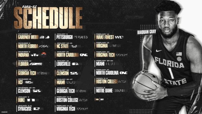 Fsu S 2020 21 Men S Basketball Schedule Unveiled