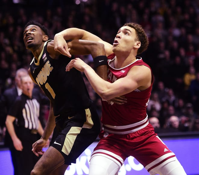 Rebounding will be key for IU against Purdue, and Race Thompson is a huge part of that.