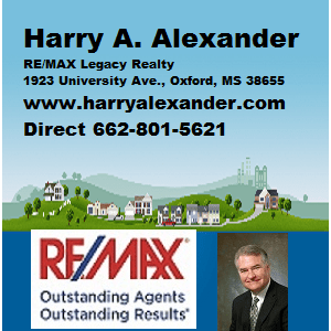 10 Weekend Thoughts is presented by RE/MAX Legacy Realty agent Harry Alexander. If you're in the market for a home or condo in Oxford, get in touch with Harry Alexander. His email is ha@harryalexander.com.