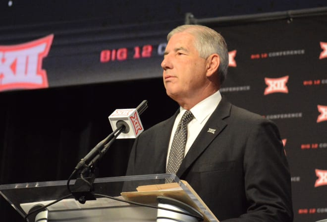 Bob Bowlsby wants you to know there is indeed defense played by Big 12 programs.